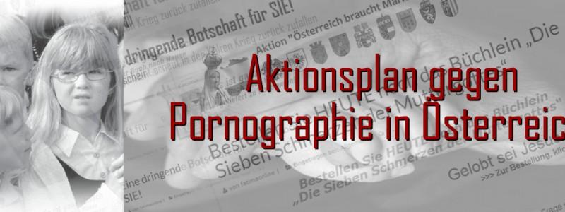 Österreich braucht einen Aktionsplan gegen Pornographie