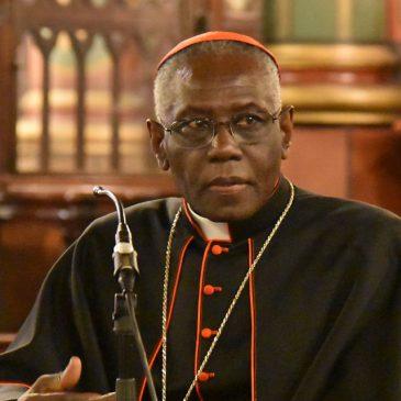 Kardinal Sarah: Kardinal Kasper beleidigt Christus