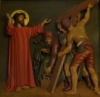 Wer vor einem Kreuz wegläuft…