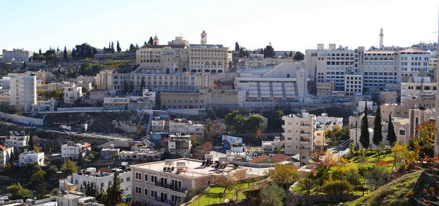 Kirche in Bethlehem niedergebrannt