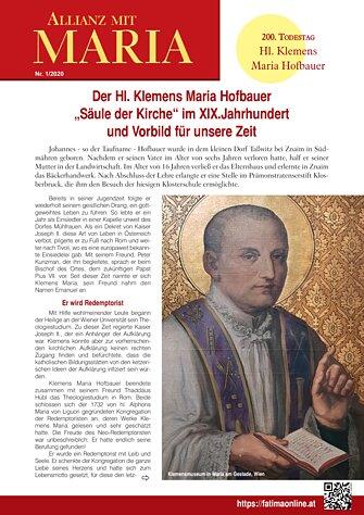 Allianz mit Maria 2020 Nr 1